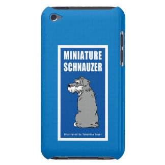 Miniature Schnauzer iPod Touch 4G Case Barely There iPod Covers