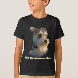 Miniature Schnauzer Kids T-Shirt