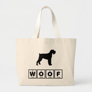 Miniature Schnauzer Large Tote Bag