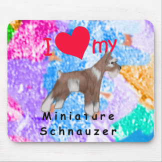 Miniature Schnauzer Mouse Pads