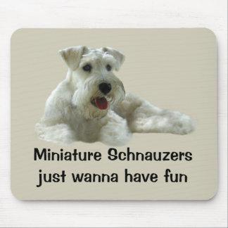 Miniature Schnauzer Mousepad