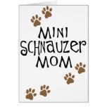 Miniature Schnauzer Mum Cards