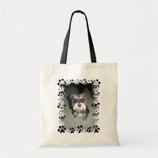 Miniature Schnauzer Photo Tote Bag