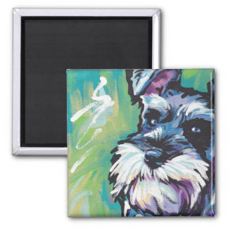 Miniature Schnauzer Pop Art magnet