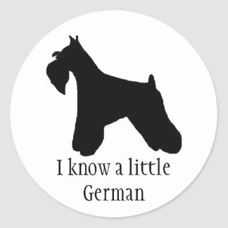 Miniature Schnauzer Sticker