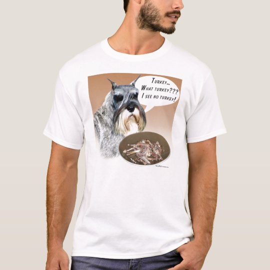 Miniature Schnauzer Turkey T-Shirt