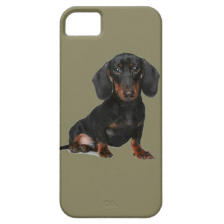 Miniature Short Haired Dachsund iPhone 5 Cover