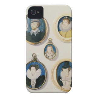Miniatures from L to R T to B Man with a Hand f Case-Mate iPhone 4 Cases
