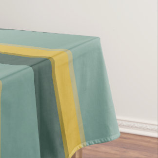 Minibus Blues Palette Stripe Tablecloth