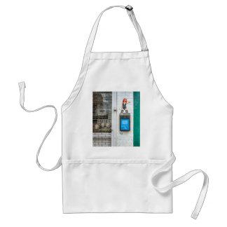Minicab graffiti girl apron
