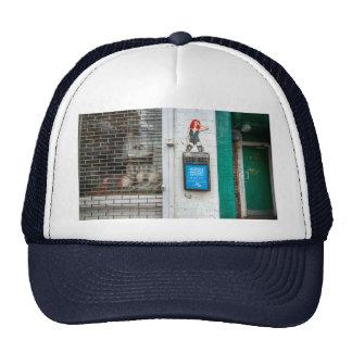 Minicab graffiti girl trucker hats
