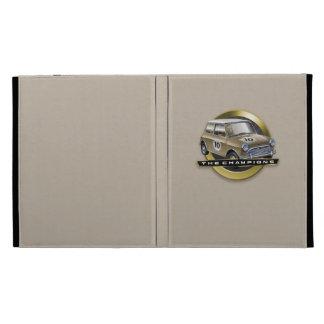 MiniCooper S gold iPad Folio Covers