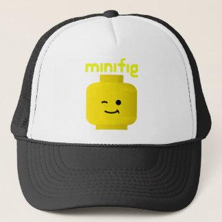 MINIFIG HEAD TRUCKER HAT