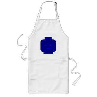 Minifig Winking Head by Customize My Minifig Long Apron