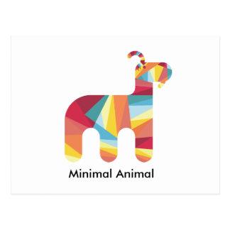 Minimal Animal PostCard