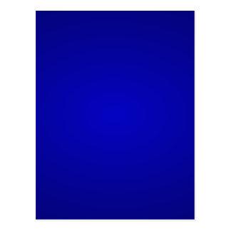 Minimal Art Color Dark Blue Postcard