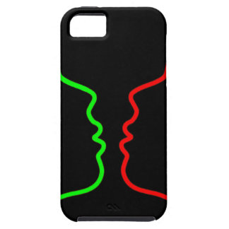 Minimal Art - Sensual MISS Lets have a KISS iPhone 5 Cover