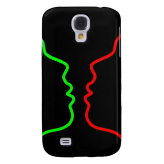 Minimal Art - Sensual MISS, Lets have a KISS Galaxy S4 Cases