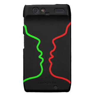 Minimal Art - Sensual MISS Lets have a KISS Droid RAZR Covers