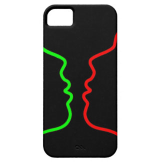 Minimal Art - Sensual MISS, Lets have a KISS iPhone 5 Case