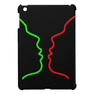 Minimal Art - Sensual MISS Lets have a KISS iPad Mini Cases