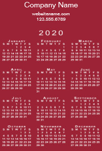 Uf Calendar 2020.Business Calendars Zazzle Co Uk