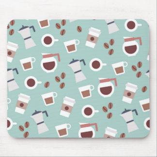 Minimal coffee beans mousepad