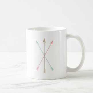 Minimal Colored Arrows Coffee Mug