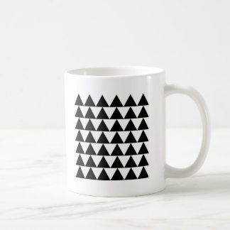 Minimal Geometric Triangle Pattern Coffee Mug