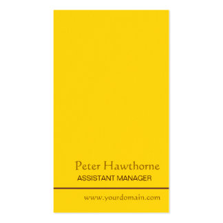 Minimal Gold Minimalist Profession Custom Personal Pack Of Standard Business Cards