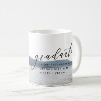 MINIMAL GRADUATION COFFEE MUG