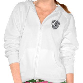 Minimal lion jumper hooded pullover