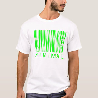 minimal music barcode design T-Shirt
