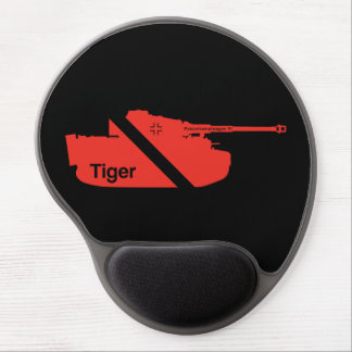 Minimal Panzerkampfwagen VI, red - black Gel Mousepad