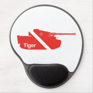 Minimal Panzerkampfwagen VI, red - white Gel Mouse Mats