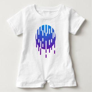 Minimal rain baby bodysuit