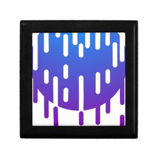 Minimal rain gift box