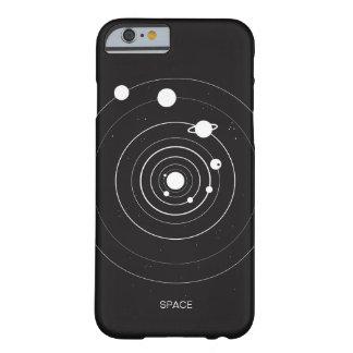 Minimal Solar System Space Orbit iPhone 6/6s Case