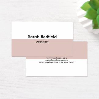 Minimal Stylish Business Card No.1