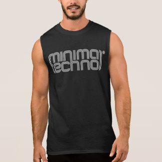 Minimal Techno - Mens Sleeveless Shirt