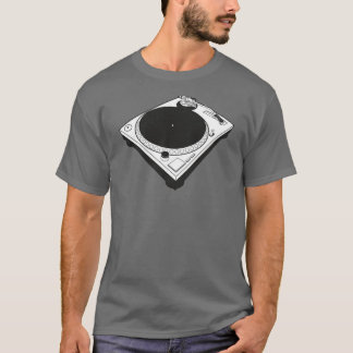 Minimal Turntable Design T-Shirt