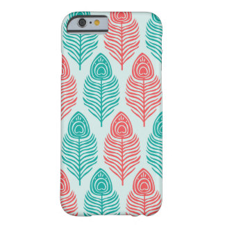 Minimal Two-tone feathers iPhone 6/6s Case