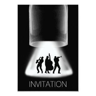 Minimalism Festival Jazz Concert  Invitation
