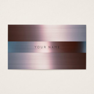 Minimalism Silver Burgunde Metallic Gray Vip Business Card