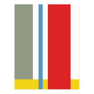 Minimalism stripes postcard
