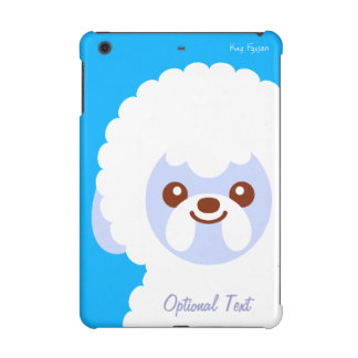 Minimalist Bichon Frise Kawaii Dog Cartoon iPad Mini Retina Case