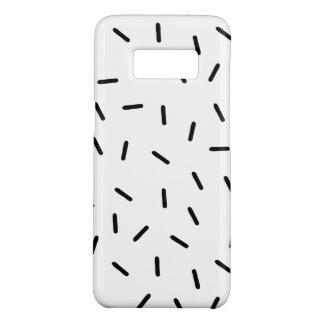 Minimalist Black Sprinkles Samsung 8 case