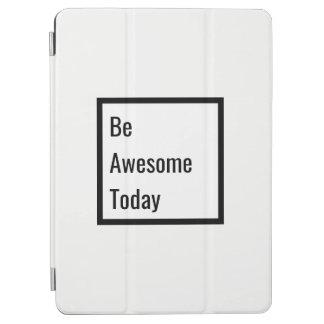 Minimalist Black & White Motivational iPad Cover