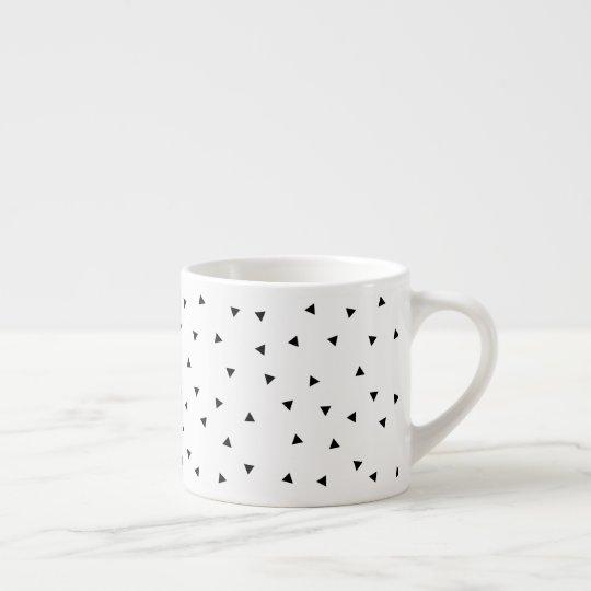 Minimalist Black & White Pattern Coffee Mug