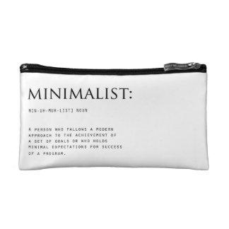 Minimalist Definition Cosmetic Bag